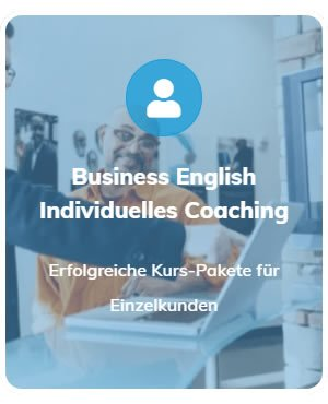Business Englisch Coaching