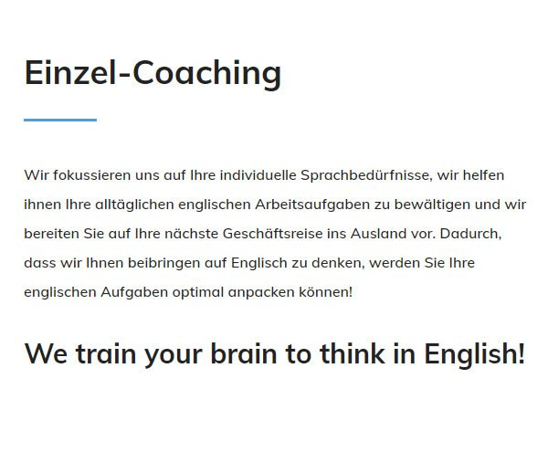 Einzel Coaching in  Tübingen