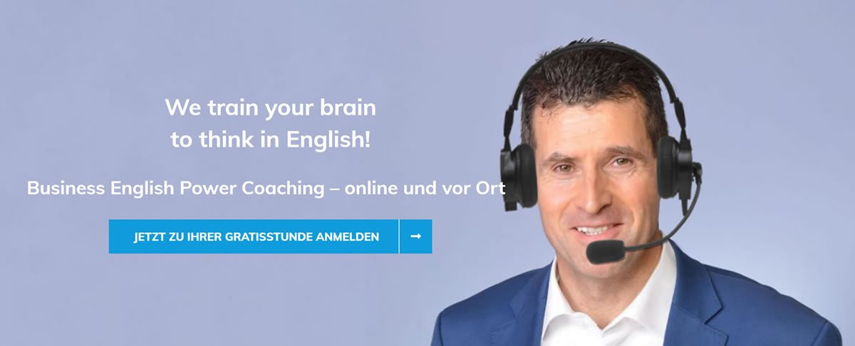 Englisch lernen Stadtbergen | 🥇 Business English Power Coaching » Business English lernen, Wirtschaftsenglisch