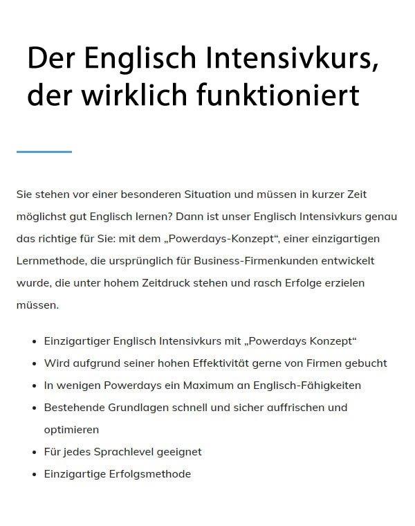 Schnell Englisch Lernen für 74072 Heilbronn